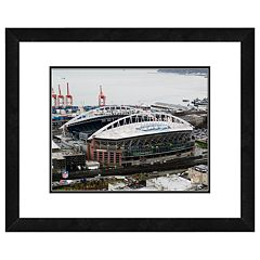 Seattle Seahawks Qwest Field Framed Wall Art
