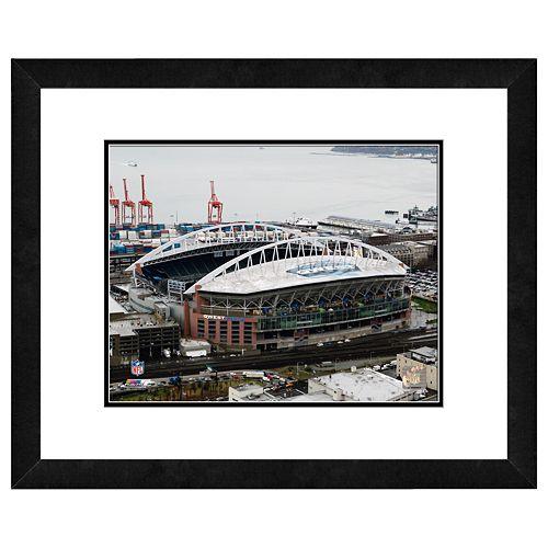 Seattle Seahawks Qwest Field Framed Wall Art