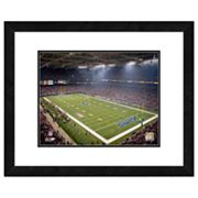 St. Louis Rams Edward Jones Dome Framed Wall Art