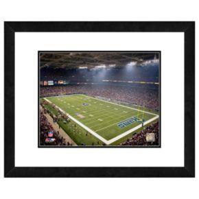 Los Angeles Rams Edward Jones Dome Framed Wall Art