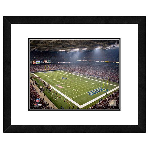 Los Angeles Rams Edward Jones Dome Framed Wall Art
