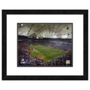 Minnesota Vikings Hubert H. Humphrey Metrodome Framed Wall Art