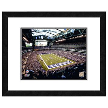 Indianapolis Colts Lucas Oil Stadium Framed Wall Art