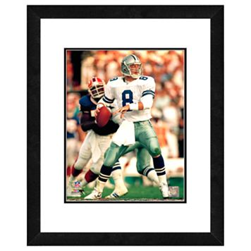 Troy Aikman Framed Player Photo