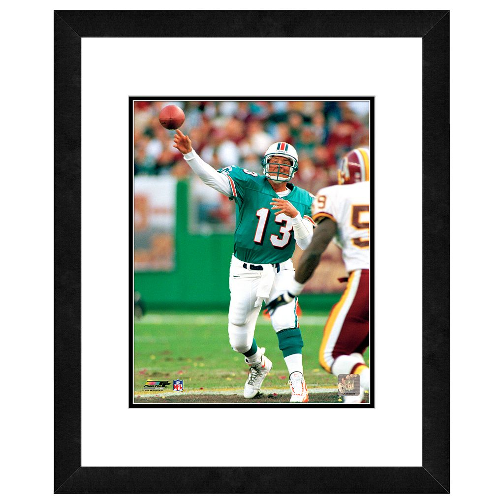 Dan Marino Framed Player Photo