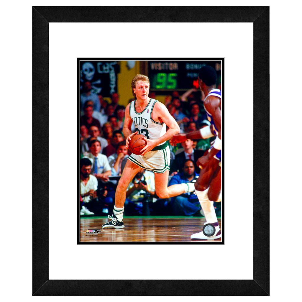 Larry Bird Framed Player Photo