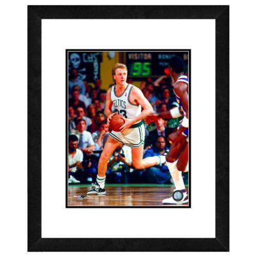 Larry Bird Framed Player Phot