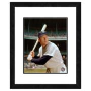 Mickey Mantle Framed Player Photo