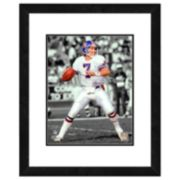 John Elway Framed Player Photo