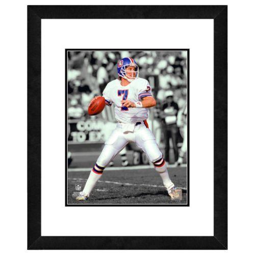 John Elway Framed Player Photo