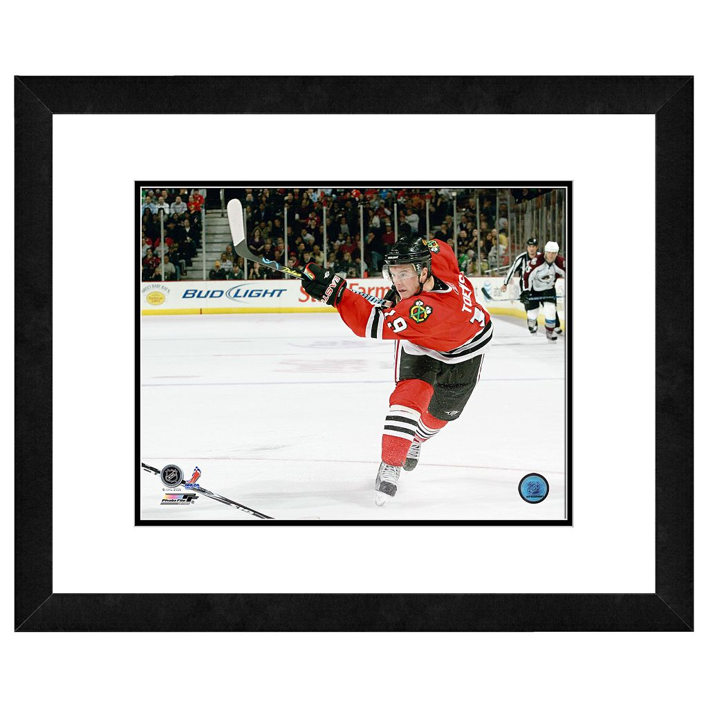 Jonathan Toews Framed Player Photo