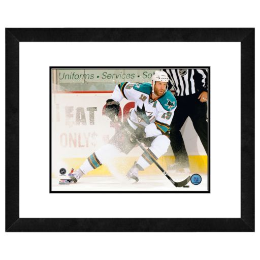 Joe Thornton Framed Player Photo