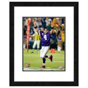 Brett Favre Framed Player Photo