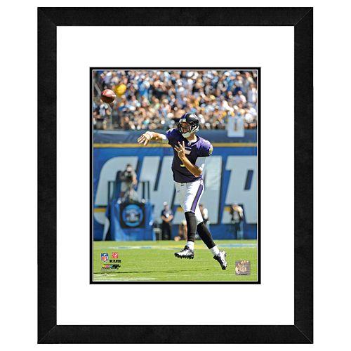 Joe Flacco Framed Player Photo