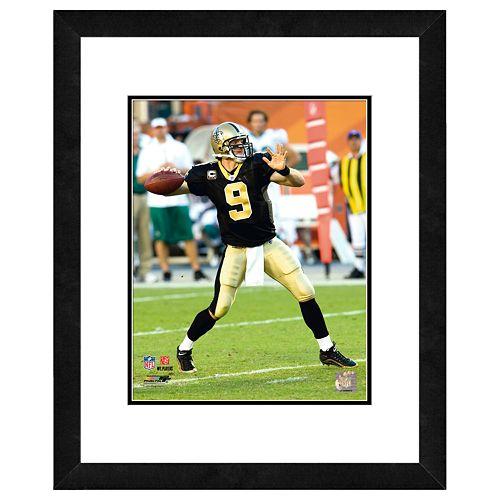 Drew Brees Framed Player Photo
