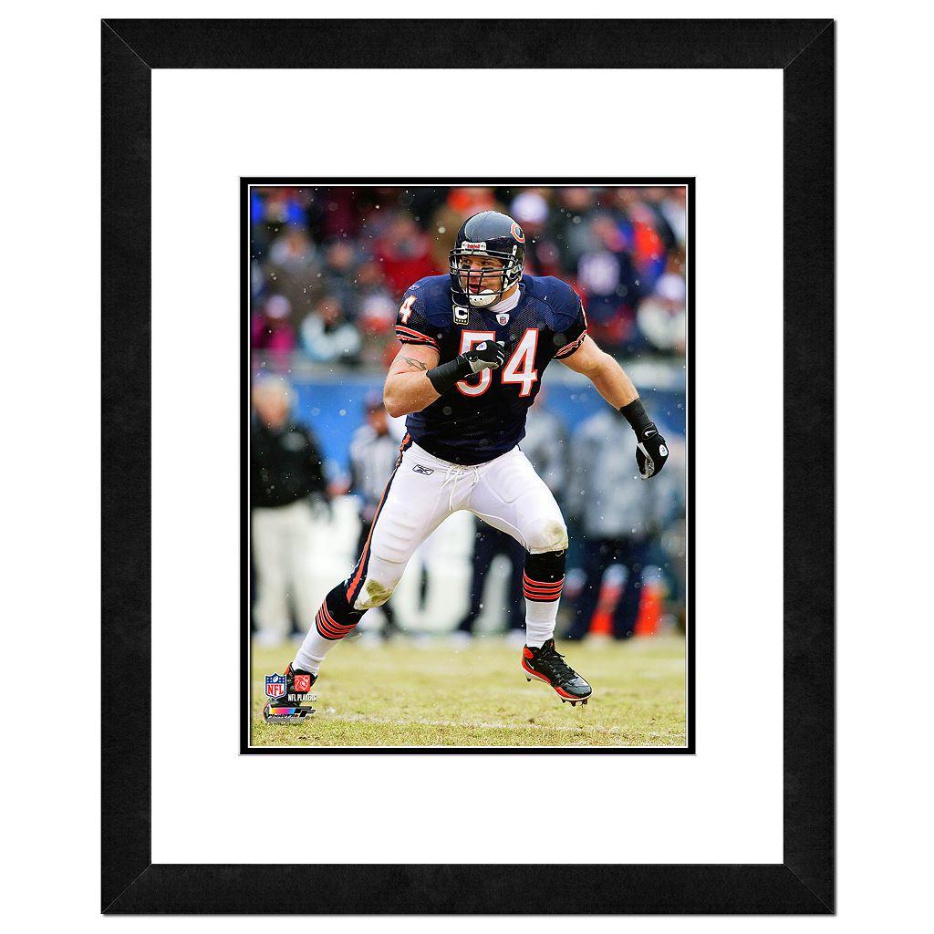 Chicago Bears Brian Urlacher Framed Wall Art