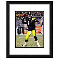Pittsburgh Steelers Ben Roethlisberger Framed Wall Art