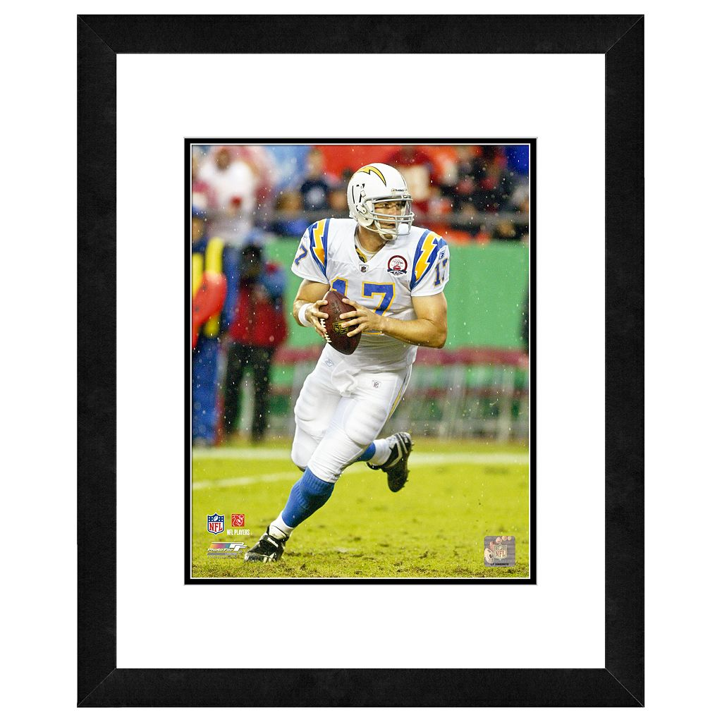 San Diego Chargers Philip Rivers Framed Wall Art