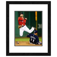 Boston Red Sox Dustin Pedroia Framed Wall Art