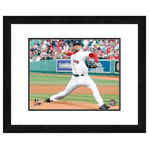 Boston Red Sox Josh Beckett Framed Wall Art