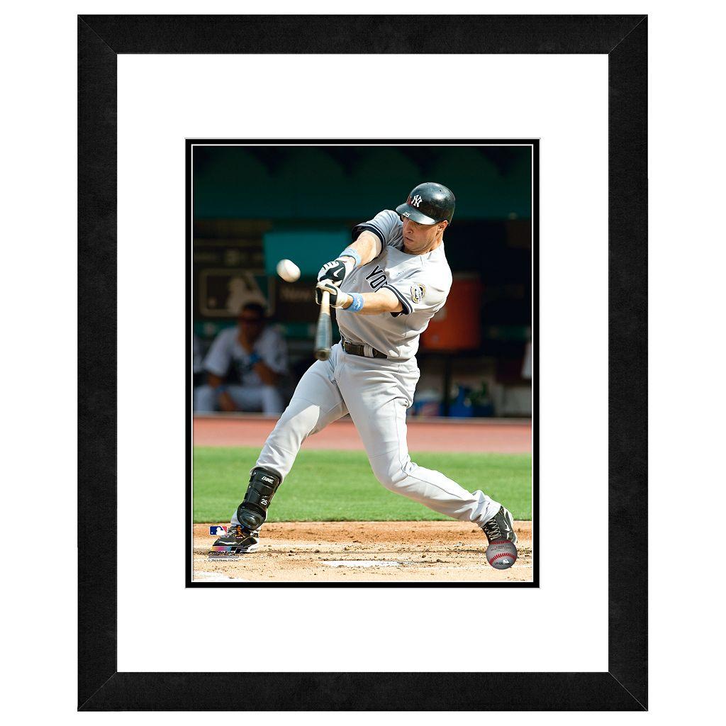 New York Yankees Mark Teixeira Framed Wall Art