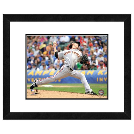 San Francisco Giants Tim Lincecum Framed Wall Art