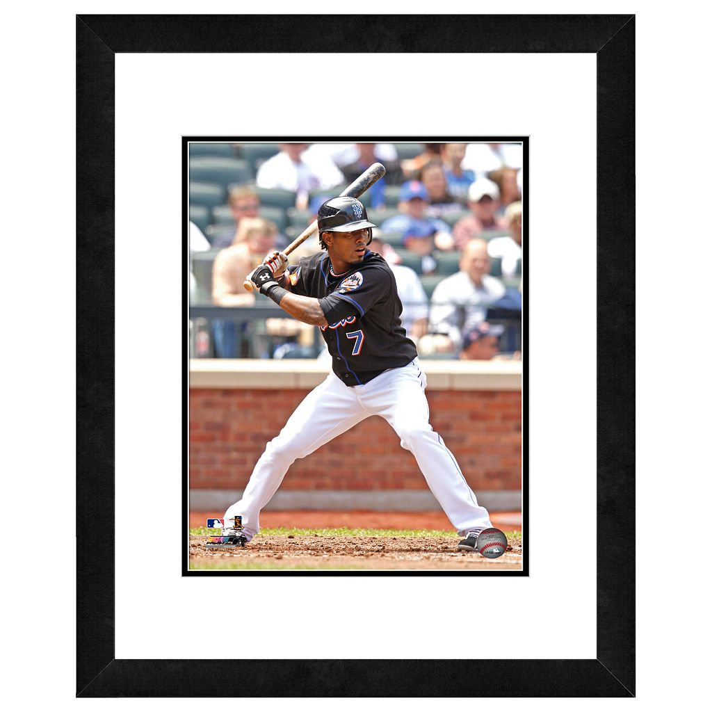 New York Mets Jose Reyes Framed Wall Art