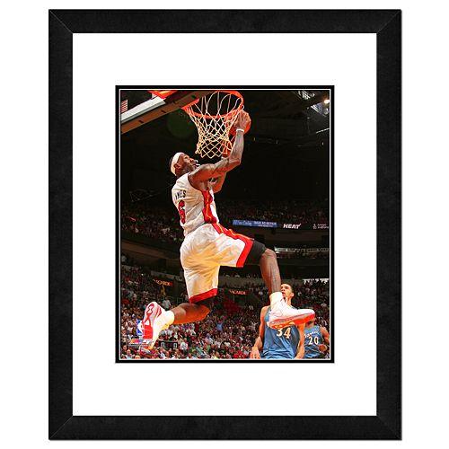 Miami Heat LeBron James Framed Wall Art
