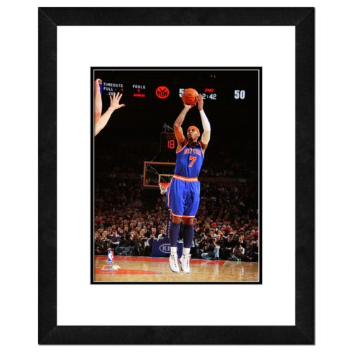 New York Knicks Carmelo Anthony Framed Wall Art
