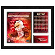 Boston College Eagles Milestones and Memories Framed Wall Art