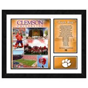 Clemson Tigers Milestones and Memories Framed Wall Art