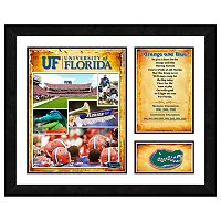 Florida Gators Milestones & Memories Framed Wall Art