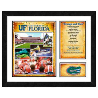 Florida Gators Milestones and Memories Framed Wall Art