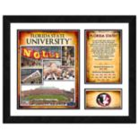 Florida State Seminoles Milestones & Memories Framed Wall Art