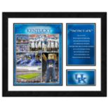 Kentucky Wildcats Milestones & Memories Framed Wall Art
