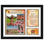 Maryland Terrapins Milestones and Memories Framed Wall Art