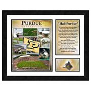 Purdue Boilermakers Milestones and Memories Framed Wall Art