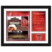 Texas Tech Red Raiders Milestones and Memories Framed Wall Art