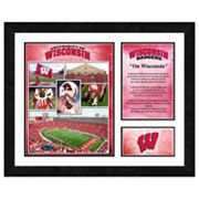 Wisconsin Badgers Milestones and Memories Framed Wall Art