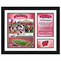 Wisconsin Badgers Milestones & Memories Framed Wall Art