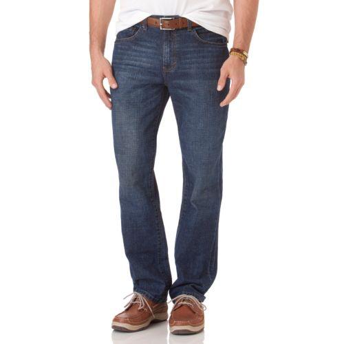 Chaps Straight-Leg Jeans - Men