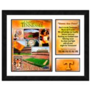 Tennessee Volunteers Milestones & Memories Framed Wall Art