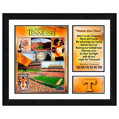 Tennessee Volunteers Milestones and Memories Framed Wall Art
