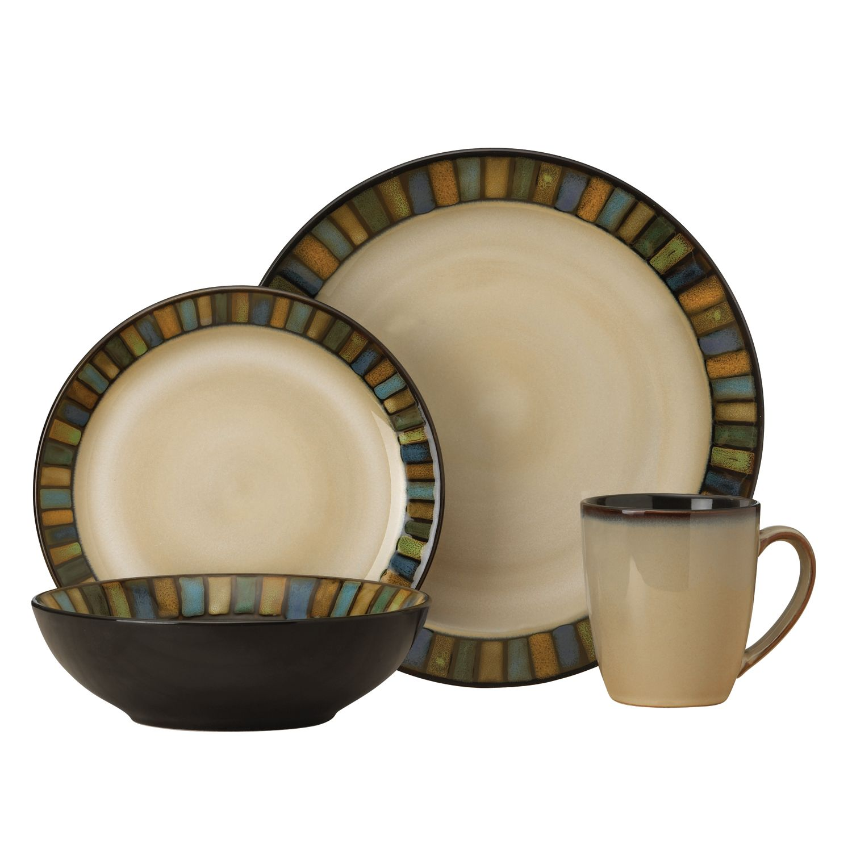 sc 1 st  Kohlu0027s & SONOMA Goods for Life™ Vallejo 16-pc. Dinnerware Set