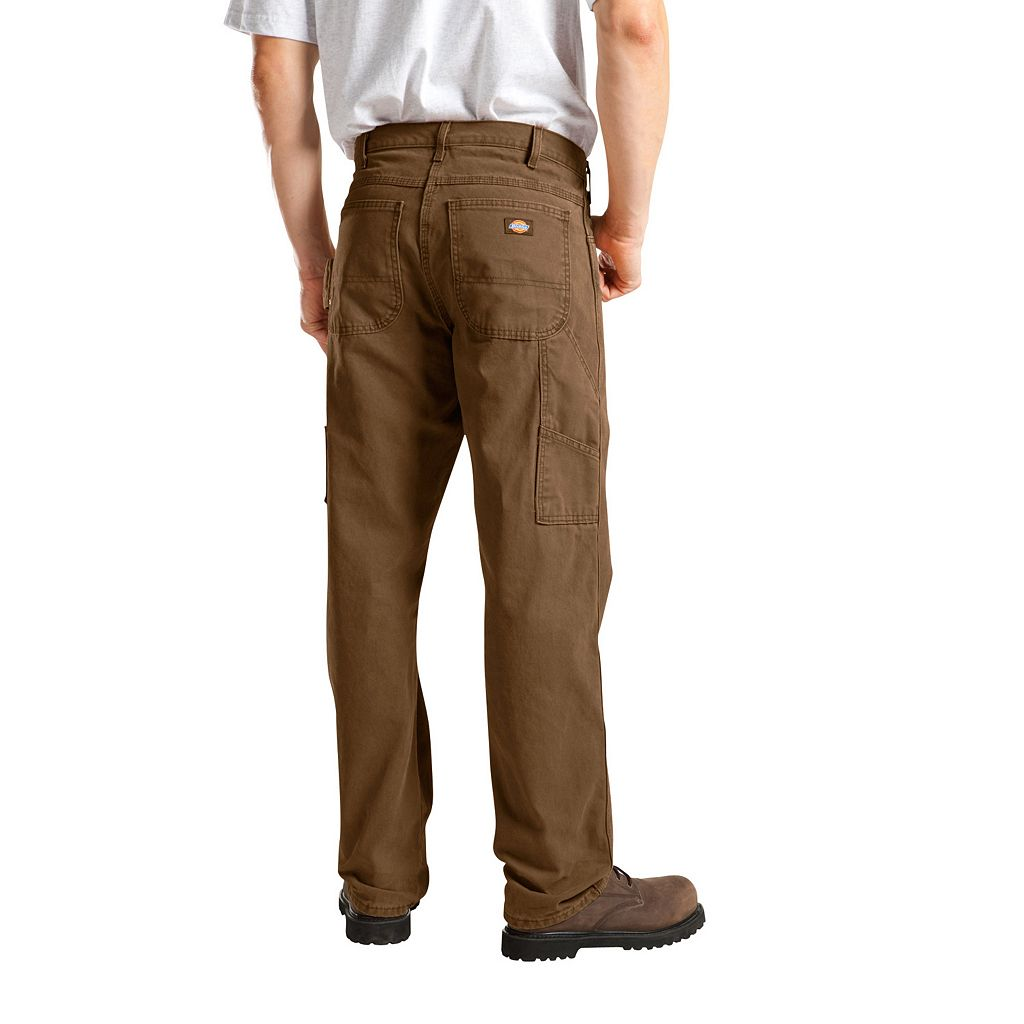 Men's Dickies Relaxed Fit Sanded Duck Canvas Carpenter Pants