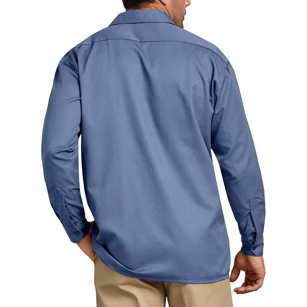 Men's Dickies Original Fit Twill Work Shirt