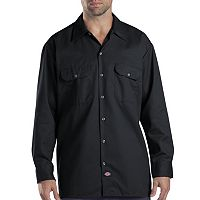 Men's Dickies Original Fit Twill Work Shirt