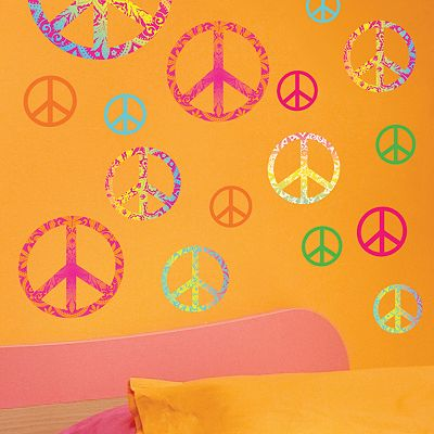 Peace Sign Wall Stickers