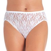Vanity Fair Illumination Helenca Floral Lace Hi-Cut Panty