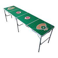 Cincinnati Reds 2' x 8' Tailgate Table